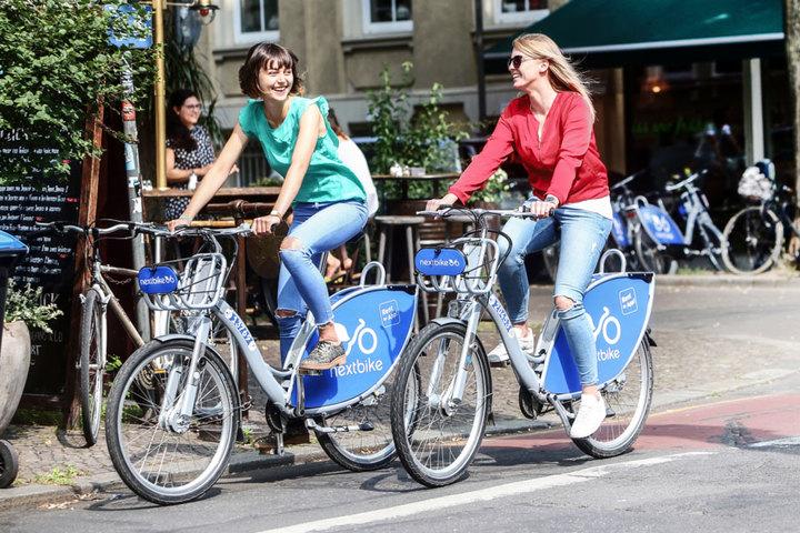 Nextbike Deutschlands Größtes Fahrradverleihsystem